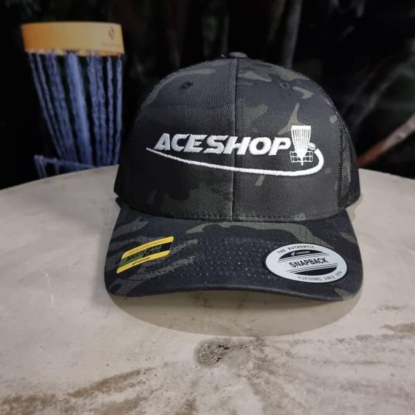 Bilde av 5-Panel Retro Trucker Cap m/ Aceshop logo